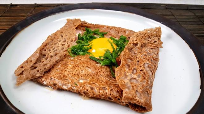 Galettes de sarrasin ou crêpes à la farine de blé noir