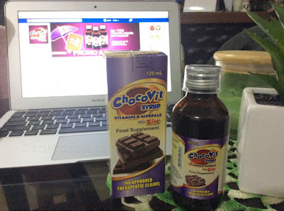 ChocoVit Syrup, The Chocolate Vitamins & Minerals with Zinc!