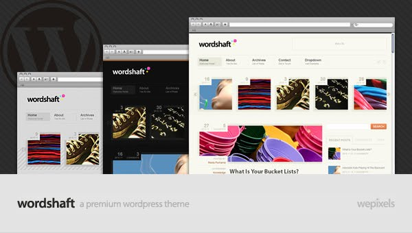 Wordshaft Wordpress Theme Free Download by MojoThemes.