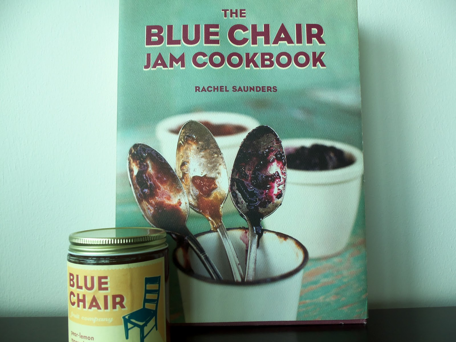 blue chair jam office pillow back support farm to jar the fruit company and my best