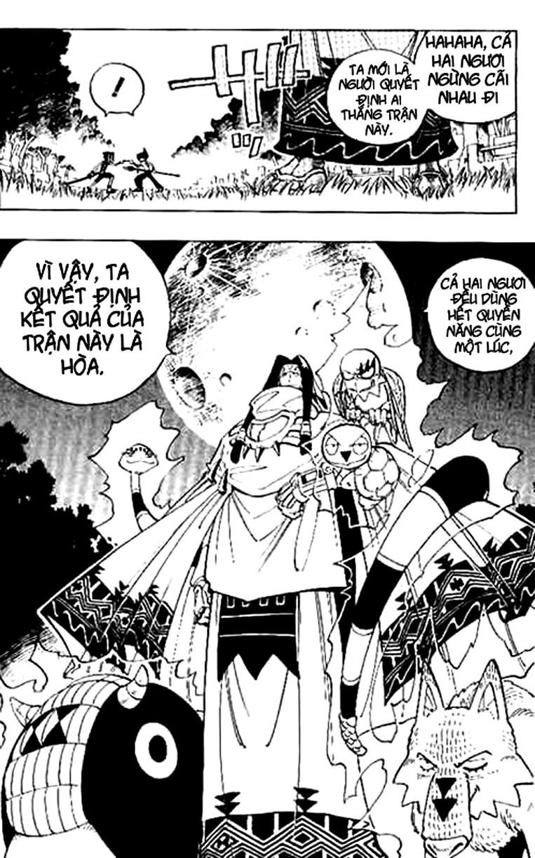 Shaman King [Vua pháp thuật] chap 64 trang 17