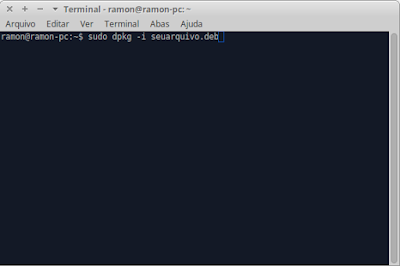 Como instalar arquivo .deb no Linux