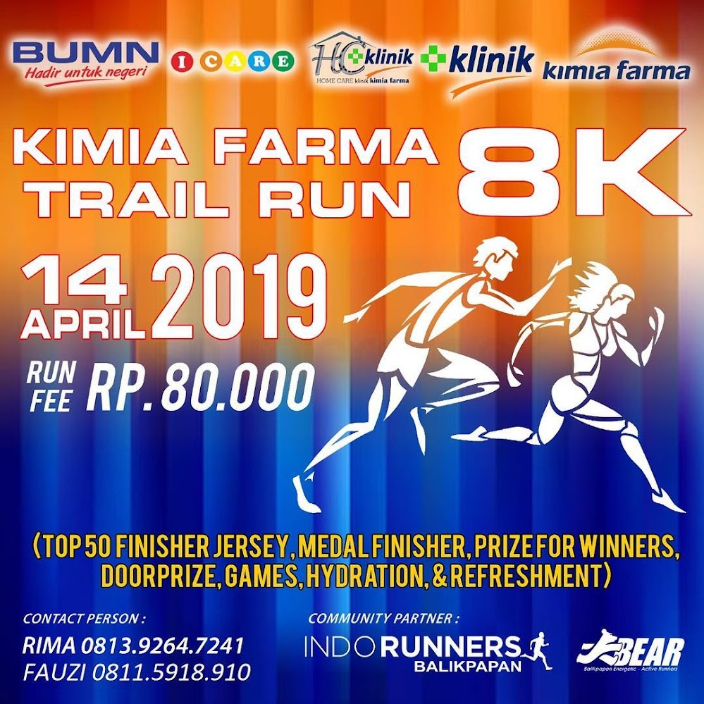 Kimia Farma Trail Run • 2019