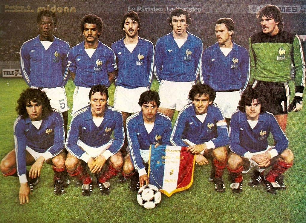 Resultado de imagem para seleção da frança 1978