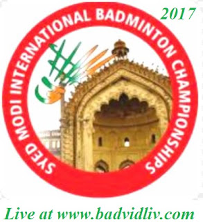 Syed Modi International Badminton Championships 2017 live streaming and videos