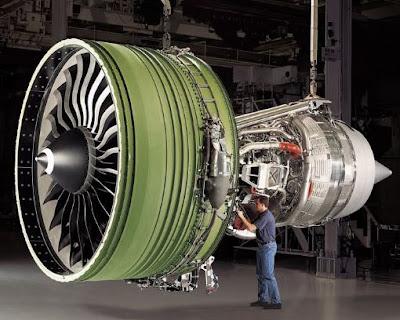 Mesin Pesawat Garuda Indonesia Yang Terbesar