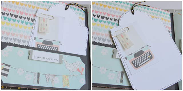 album scrapbooking i am simple stories