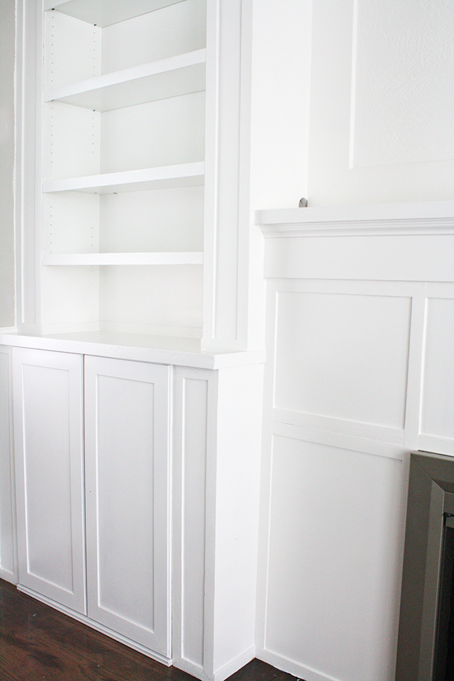 Diy Fireplace Built Ins Ikea Hack With Billy Bookcase