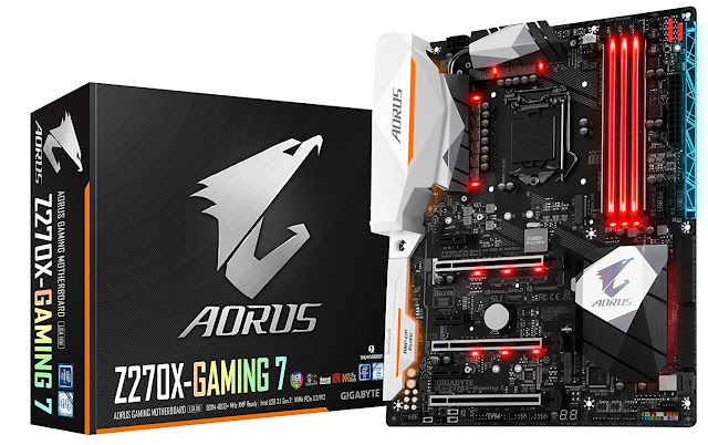 Aorus Z270X Gaming 7: Beautiful Kabylake motherboard for gamer
