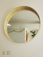 Relooker un miroir casquette syla vintage