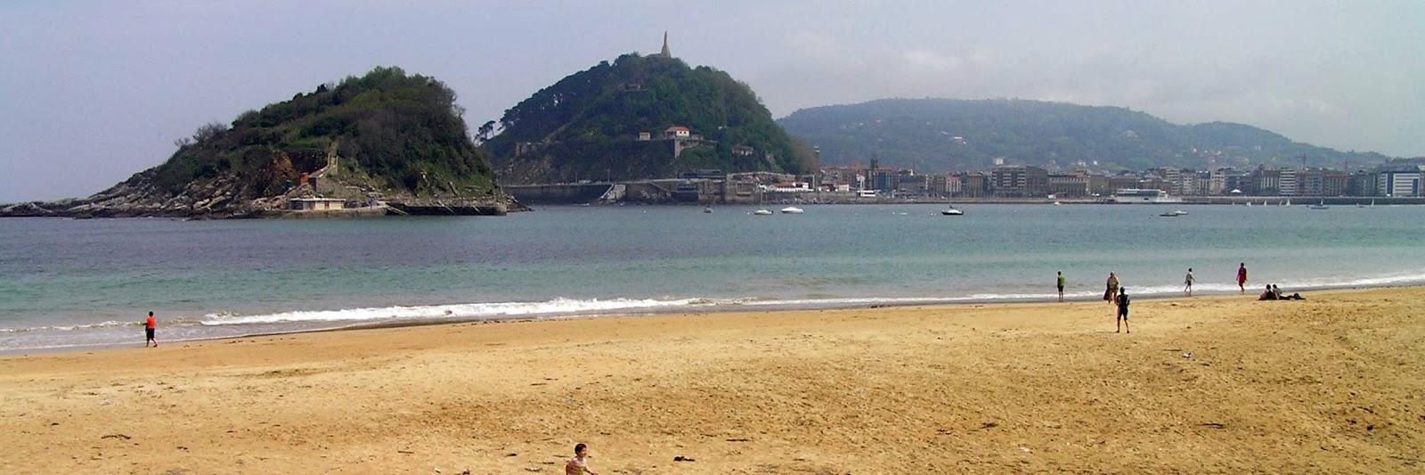 San Sebastián, Playa de la Concha.
