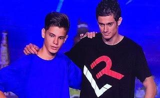Rubén, ejercicios de parkour. Got Talent Gala 1