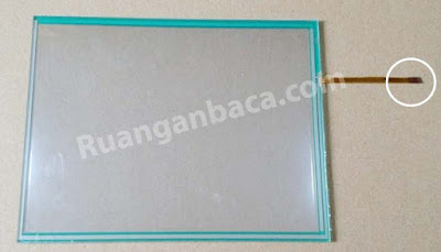 Layar LCD Touch screen mesin fotocopy canon IR