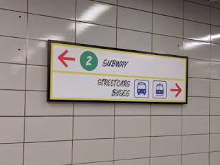 Subway Streetcars Buses.