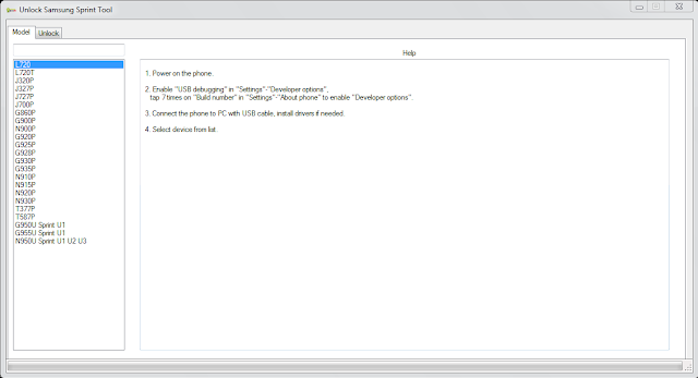 Download Samsung Network Sprint Unlock Tool S8/S8 PLUS