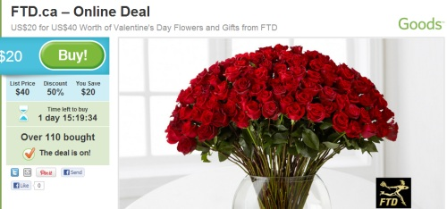 ftd canada coupon