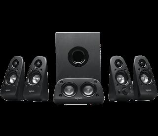 Logitech 506 5.1 channel speaker | bali komputer