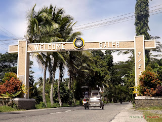 Mango Tours Aurora Baler Welcome Arch