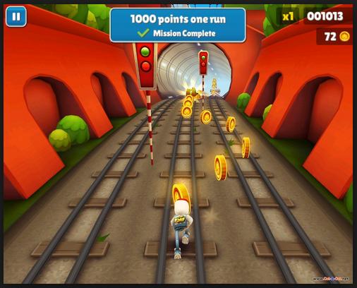 Bagi anda pengguna android niscaya tahu game yg fastastic dan popular ini  Download Game Subway Surfers v1.21.0 APK Update