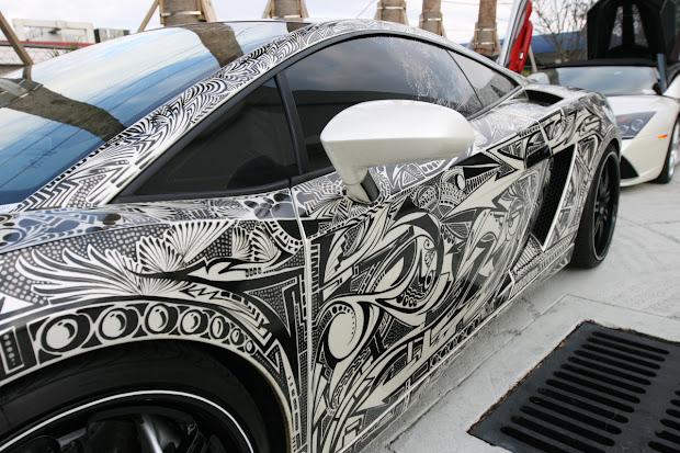 Sharpie Car Art