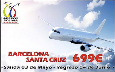 Promo ida y vuelta Barcelona Santa Cruz