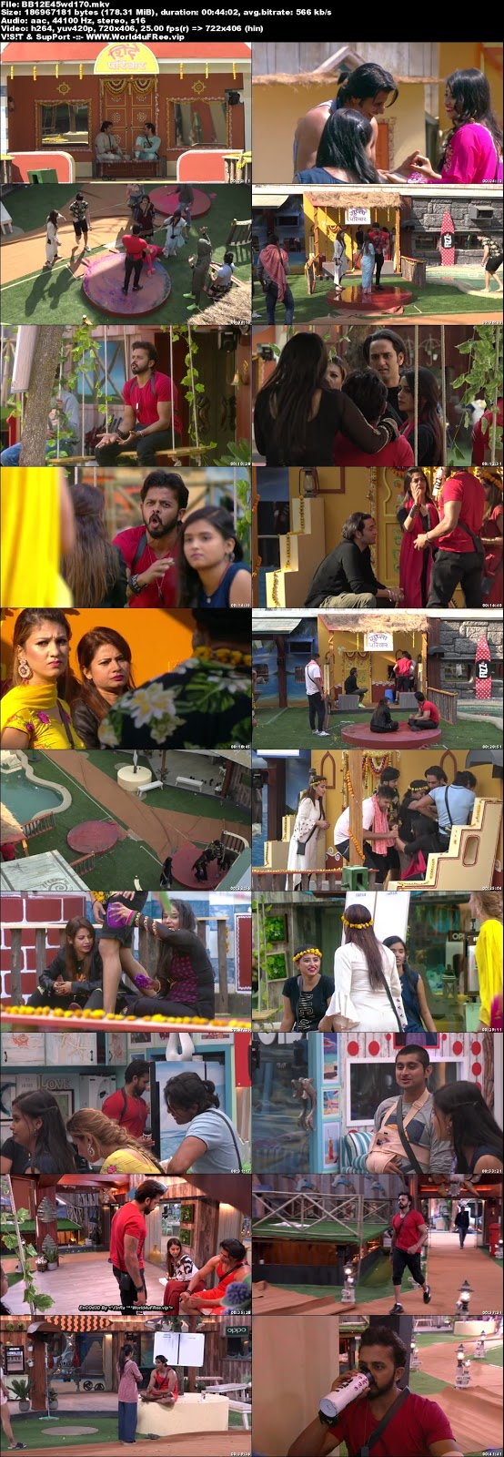 Bigg Boss 12 Episode 45 31 October 2018 WEBRip 480p 170Mb x264 world4ufree.vip tv show Episode 45 31 October 2018 world4ufree.vip 200mb 250mb 300mb compressed small size free download or watch online at world4ufree.vip