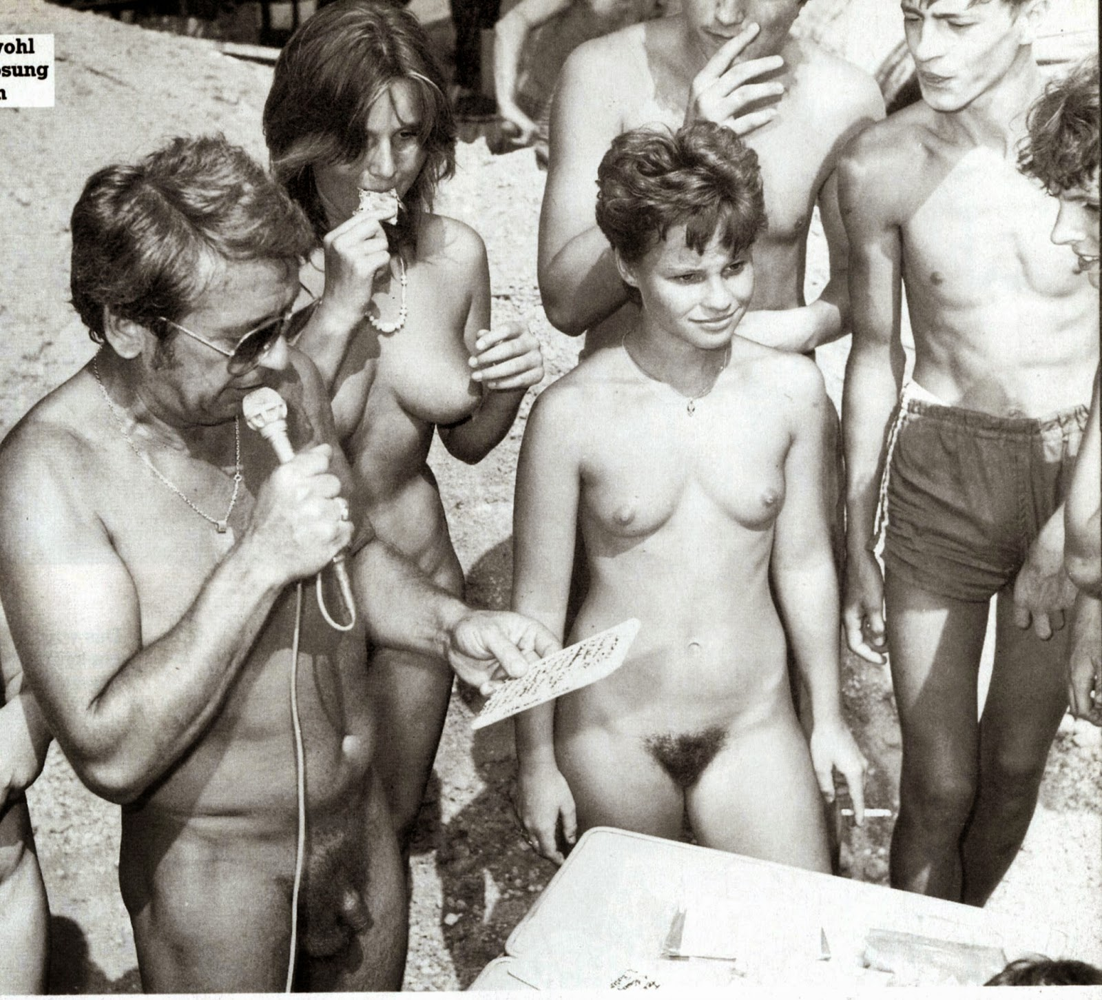 Nudism - Photo - Hq  Nudism Retro Teens Girls-2982