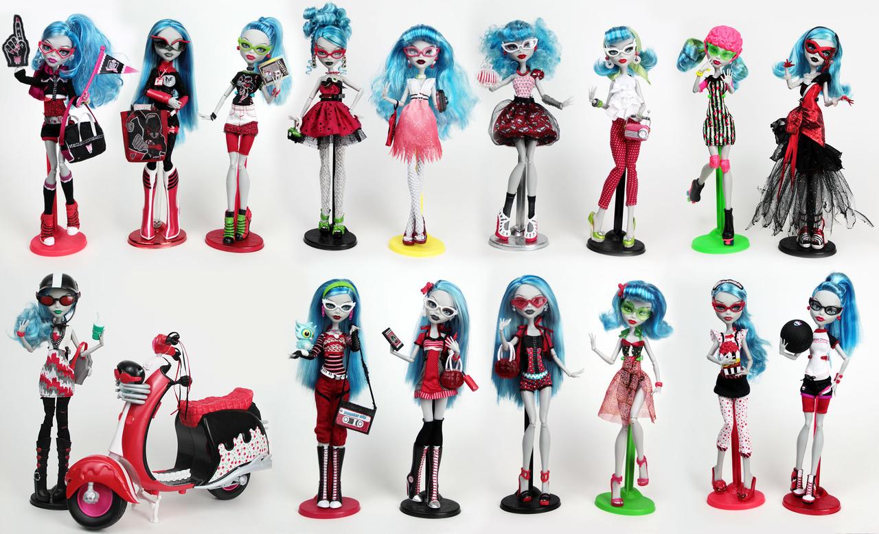 Monster High — серия стильных и дружелюбных кукол-монстров