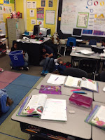 More students are trying to hide from animals!