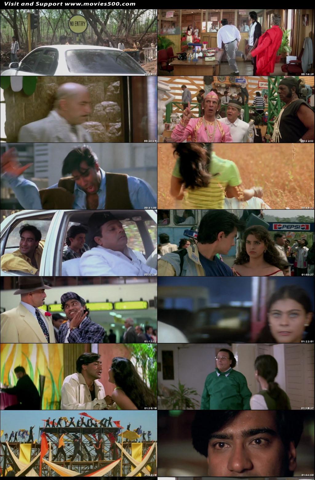 Ishq 1997 Bollywood 300MB Download HD at movies500.com
