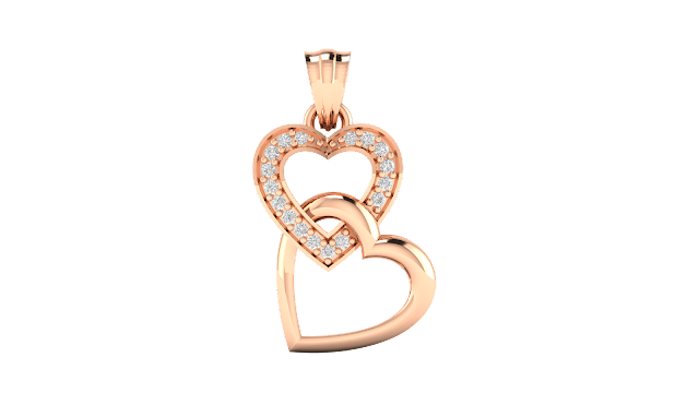 Riley Heart Diamond Pendant. Rs. 10,832-