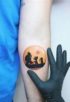 tatuaje simple dragon ball