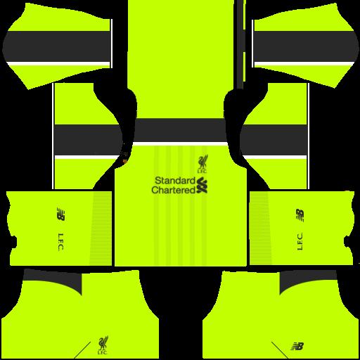 huge discount a1b5f 7120e Dream League Soccer 17 Kit: liverpool kit dls17