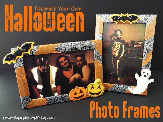 Decorate Your Own Halloween Photo Frames