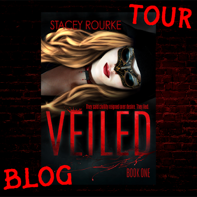 Veiled, Stacey Rourke, blog tour, On My Kindle Book Reviews