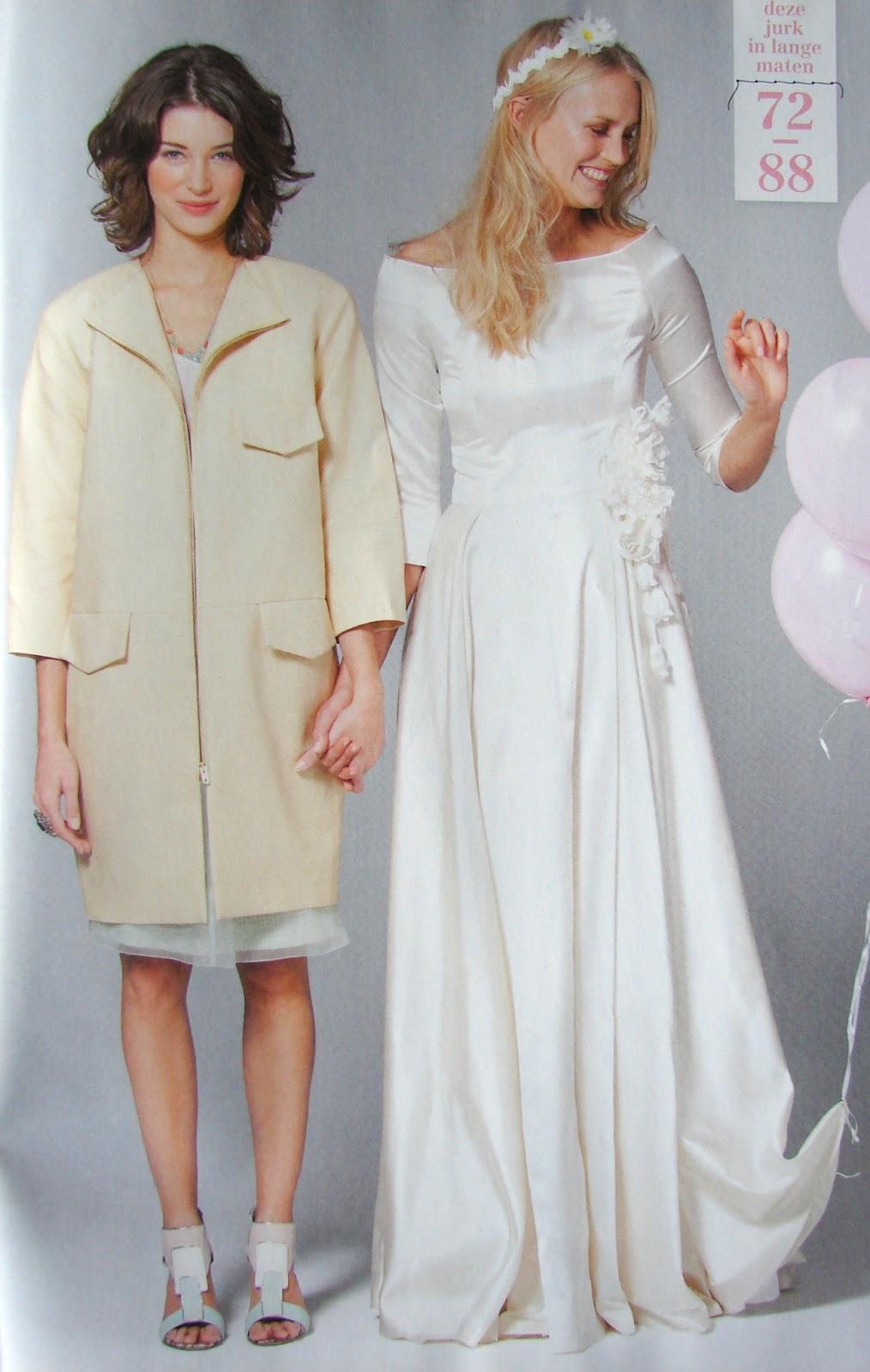 e0e1e8d3d08341 Een grote wollen omslagdoek van een mooie kleur uit het mantelpakje is toch  100 maal mooier en 100 maal makkelijker te maken. Wat een wonderlijke  bruiloften ...