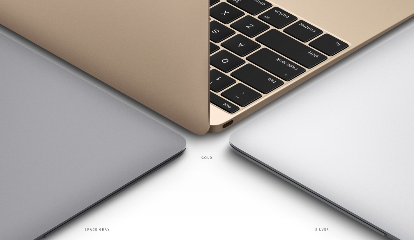2015 Gold Macbook