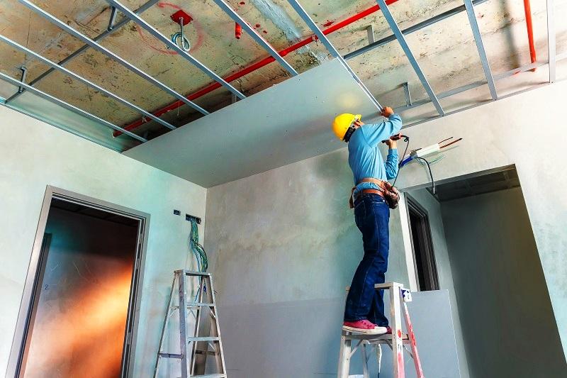 Rangka Plafon Baja Ringan Minimalis Cara Menghitung Biaya Pemasangan Rumah Langit