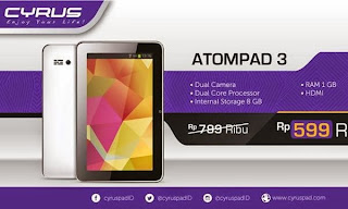 Tablet Android 1 juta Game