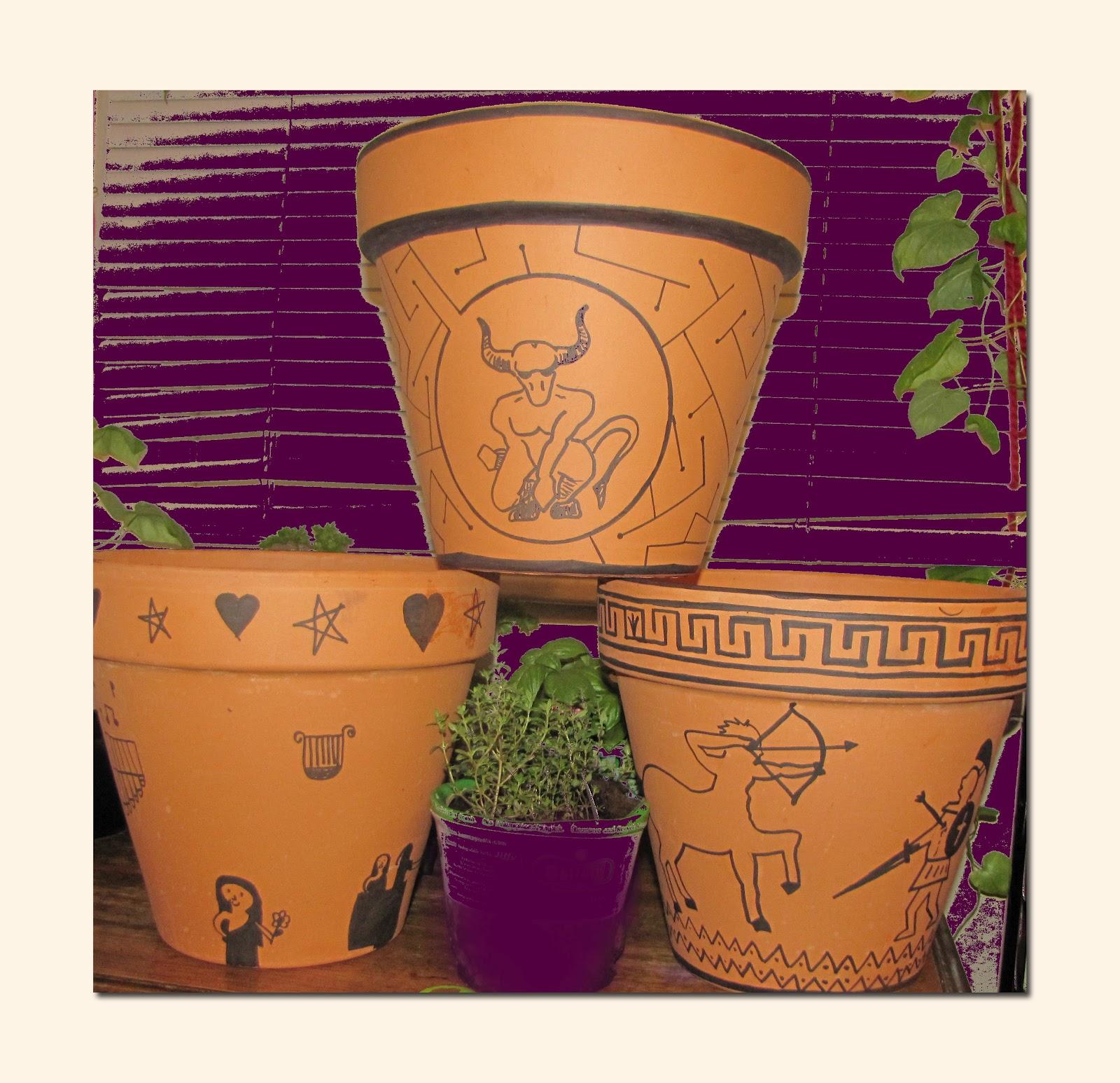Greek Pottery Homeschool Project