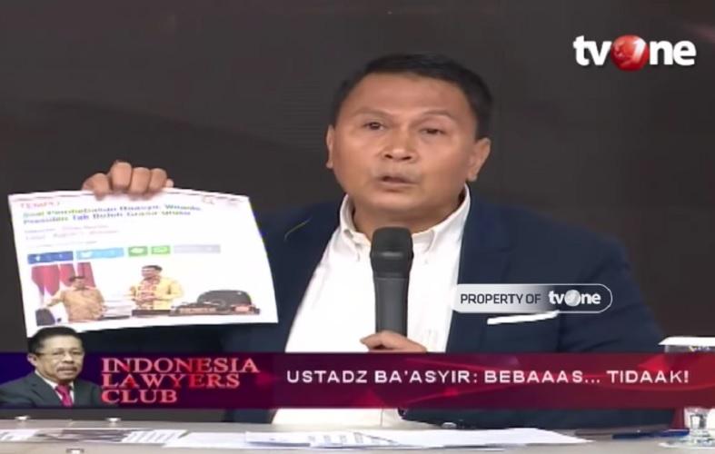 Mardani Ali Sera Sebut Jokowi Aktor Utama Sandiwara Pembebasan ABB, Ini Buktinya