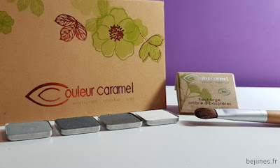 Palette Fard à paupières Couleur Caramel Make up Bio