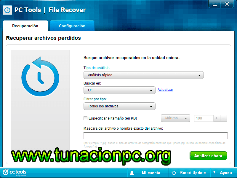 PC Tools File Recover Final, Recupera tus Archivos Múltiples