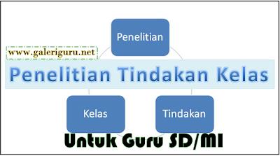 Kumpulan Contoh PTK Untuk Guru SD/MI Super Lengkap