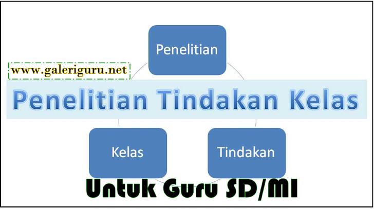 Kumpulan Contoh PTK Untuk Guru SD/MI Super Lengkap - Galeri Guru