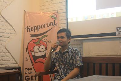 Gustian Ri'pi - ketua umum blogger ub