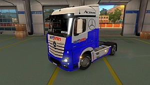 Les Routiers Mercedes MP4 skin