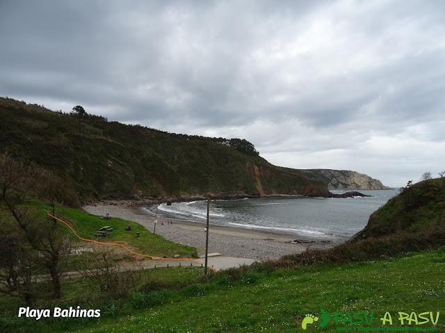 Playa Bahínas, Castrillón