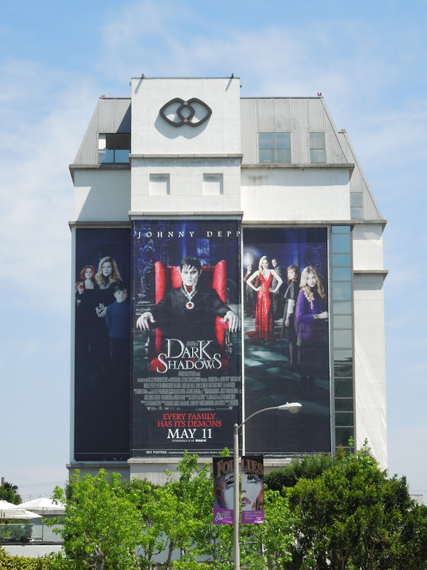 Dark Shadows movie billboard