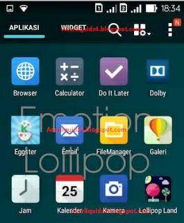 ROM lollipop acer z4